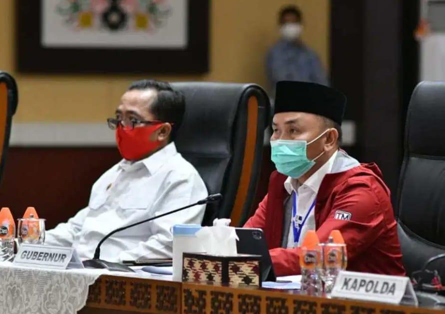 Pengembangan Food Estate, Bupati Kapuas Dan Pulpis, Gubernur Kalteng Tekankan bersinergi