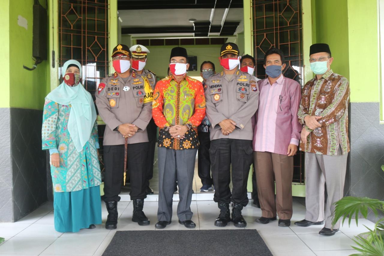 Perkuat Pembinaan Keagamaan Di Kalteng, Kapolda Silahturahmi Ke IAIN.