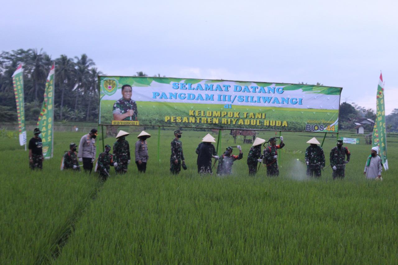 Panglima Kodam III/Siliwangi Mayjen.TNI. Nugroho Budi Wirianto, SIP, mm. Berkunjung Ke Tasikmalaya