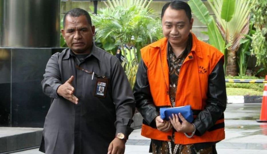 KPK Eksekusi Bupati Lampung Utara ke Rutan Bandar Lampung