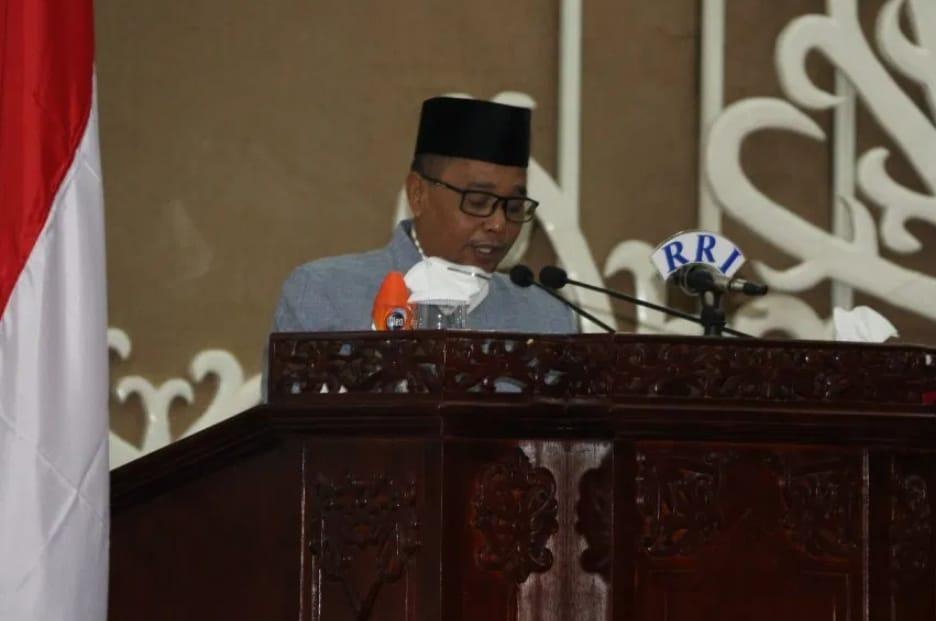 Wakil Gubernur Kalteng hadiri Rapat Paripurna dan Penandatanganan Raperda Pengendalian Kebakaran Lahan