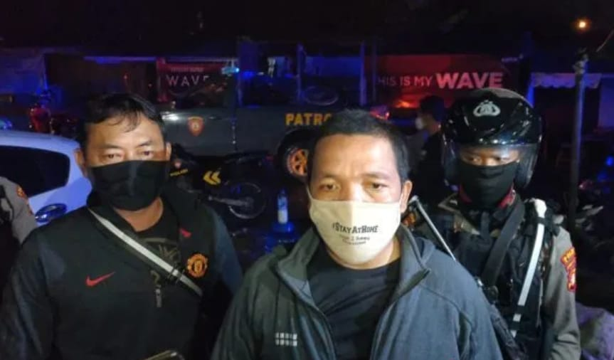 Ditsamapta Polda Kalteng, Amankan Dua penjual Zenit.