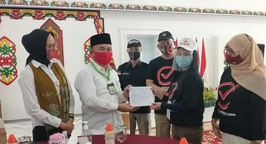 Gubernur Sugianto Sabran Ajak Seluruh Masyarakat Kalteng Sukseskan Coklit dan Pilkada Serentak 2020