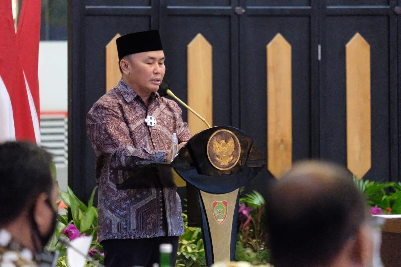 Optimis Laksanakan Pilkada Tahun 2020, Mendagri Tito dan Gubernur Kalteng Sugianto Sabran Lakukan Rapat Koordinasi