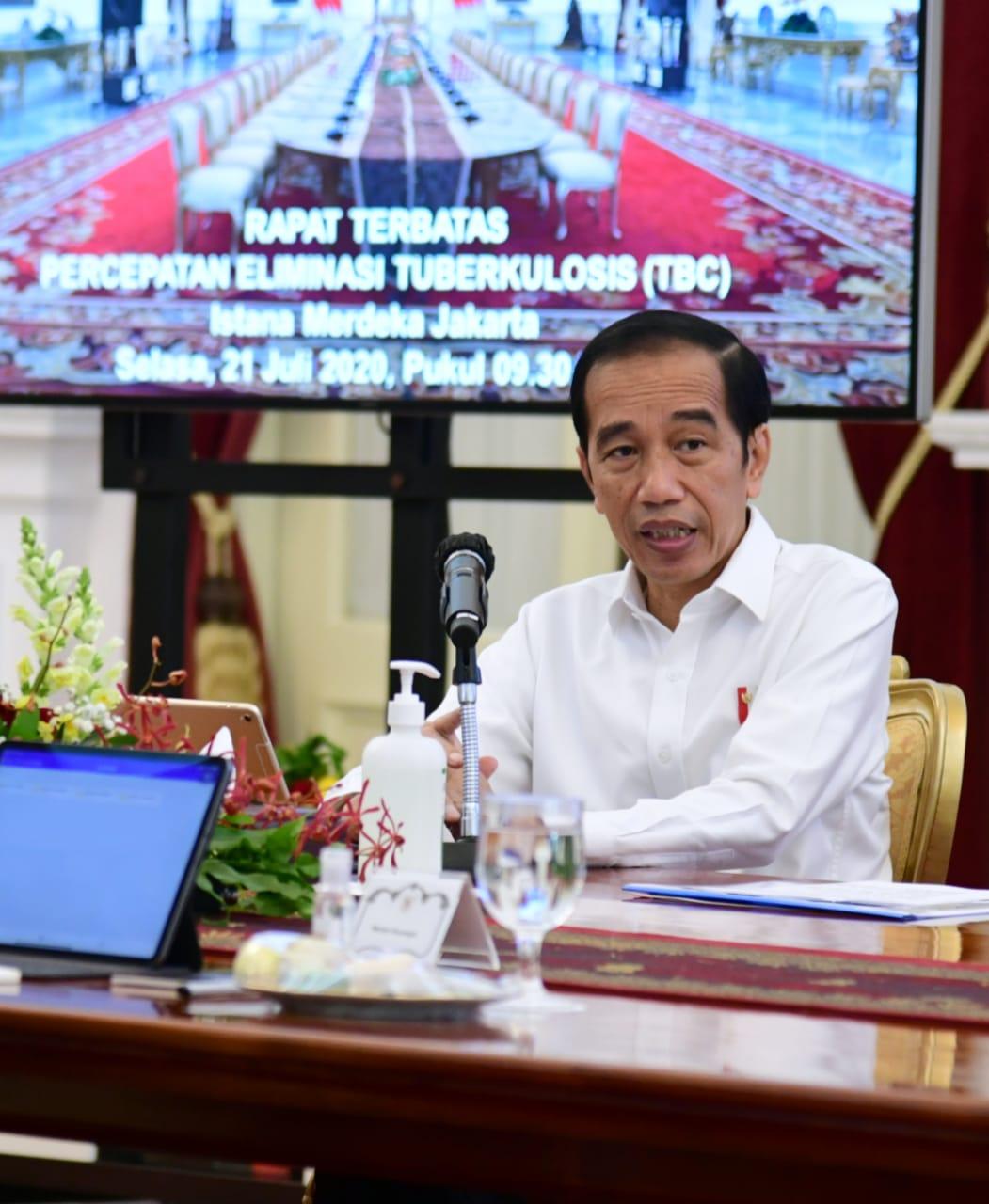 Presiden: Jadikan Penanganan Covid-19 sebagai Model Percepatan Pengurangan TBC