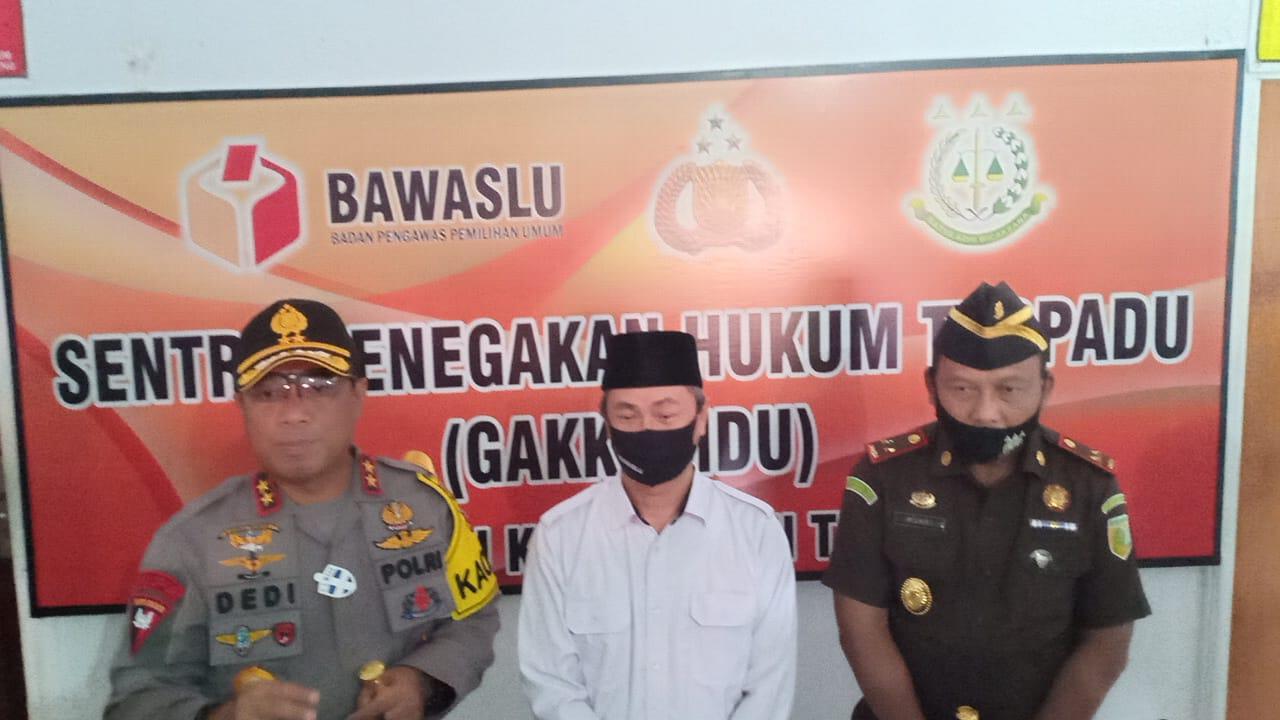 Siap Amankan Pilkada 2020, Polda Kalteng MOU bersama Kejati dan Bawaslu.