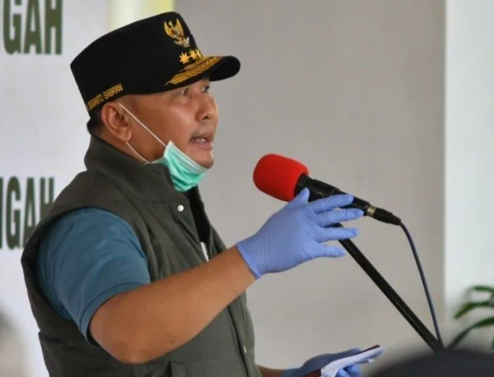 Gubernur Kalteng Beri Dana Hibah banguna Laboratorium Level 2 PCR RS TNI AD Kalteng