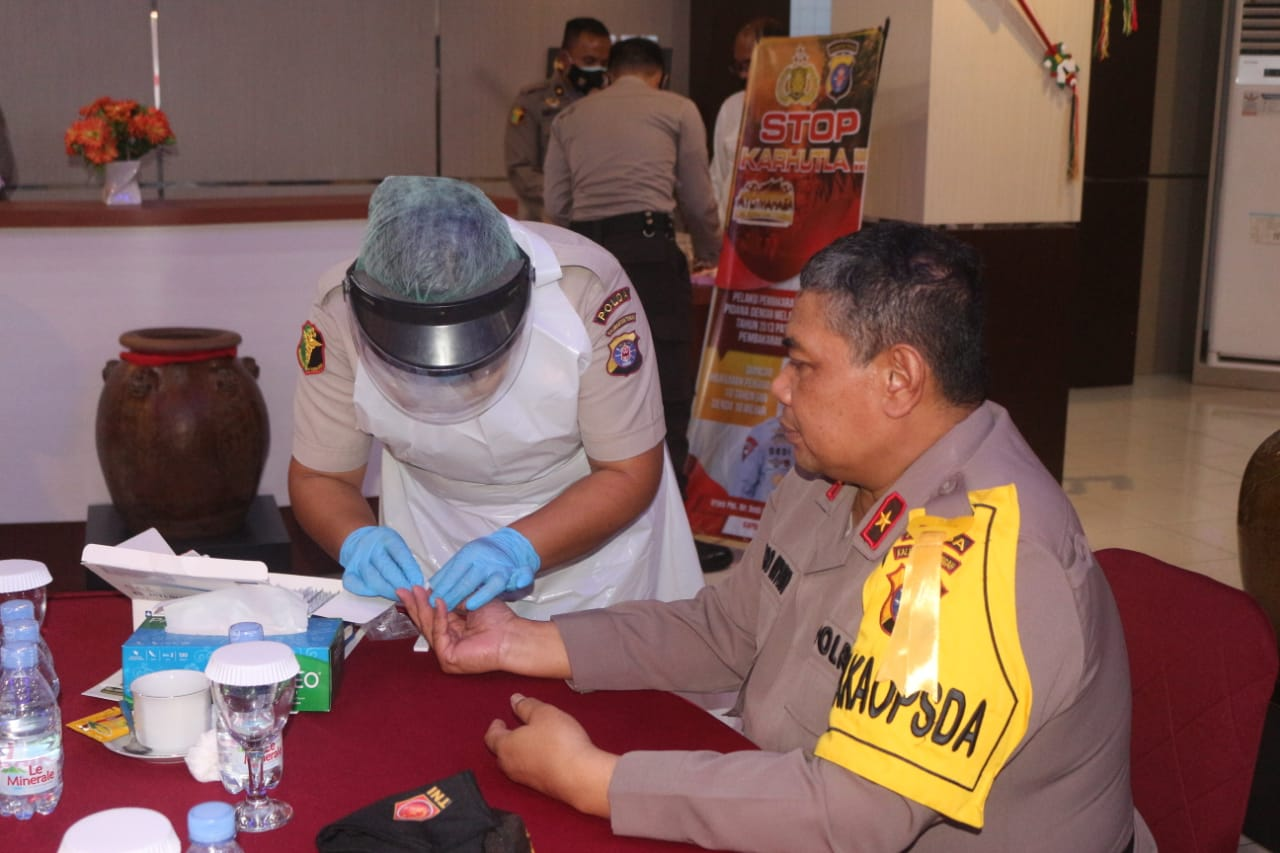 Tingkatkan Silahturahmi Sesama Anggota, Kapolda Kalteng Gelar Coffe Morning Bersama PJU