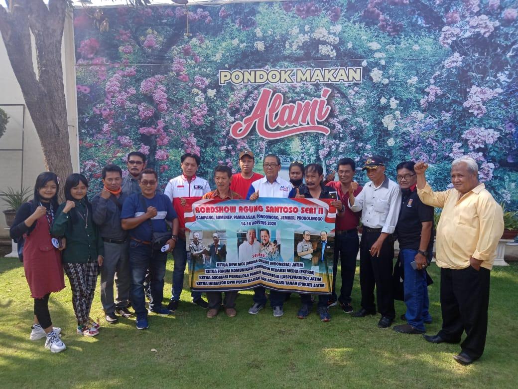 Roadshow Agung di Probolinggo Kupas Tuntas Belanja Media Sampai Kriminalisasi Wartawan
