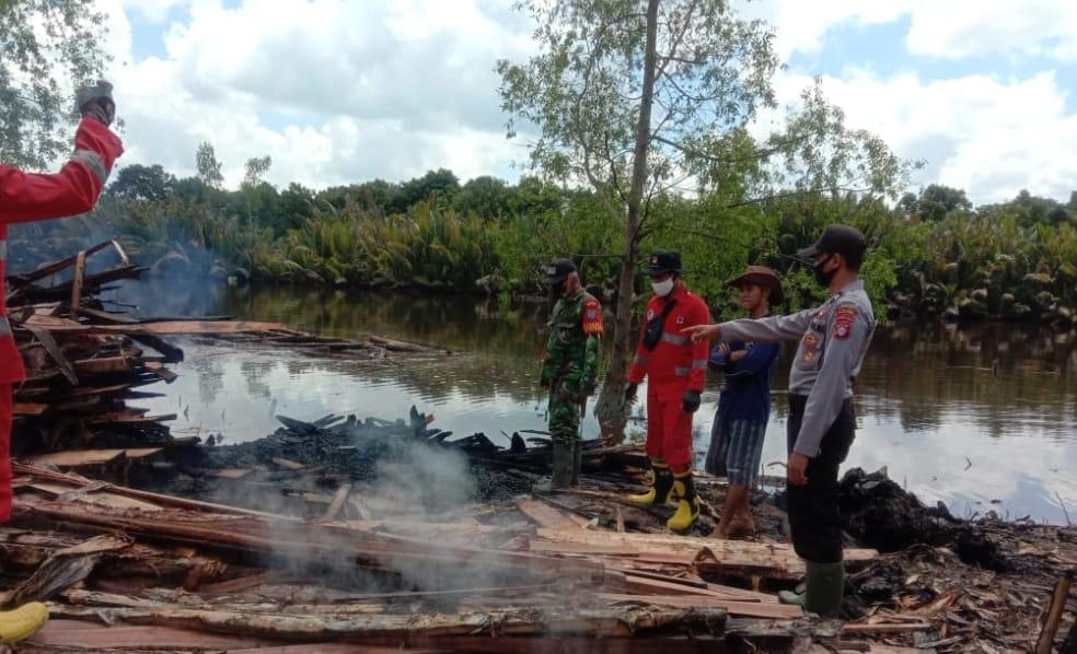 Tindak Tegas Pembakaran Hutan Dan Lahan, Ini Kata Kapolsek Sebangau Kuala