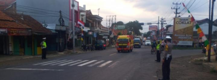 Polres Ciamis Siagakan Personil Di Delapan Titik Pos Jaga
