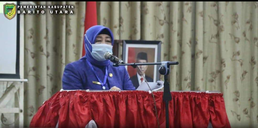 Rapat Paripurna Masa Sidang III DPRD Kabupaten Barito Utara Sekaligus Peringatan HUT RI Yang Ke 75