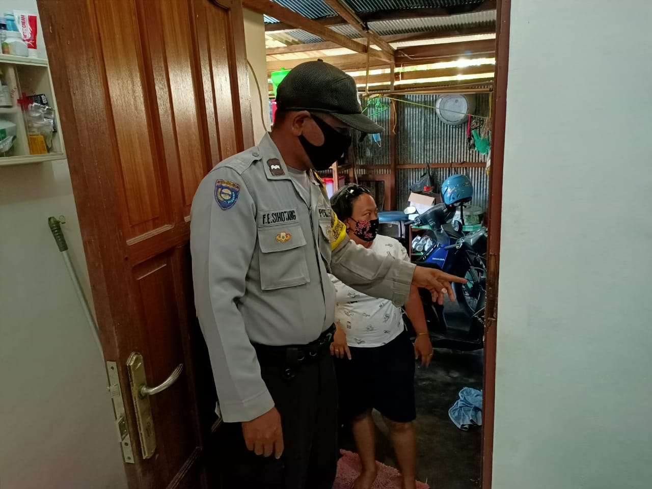 Polsek Sabangau Selidiki Pencurian Rumah Kosong Di Kereng Indah Permai