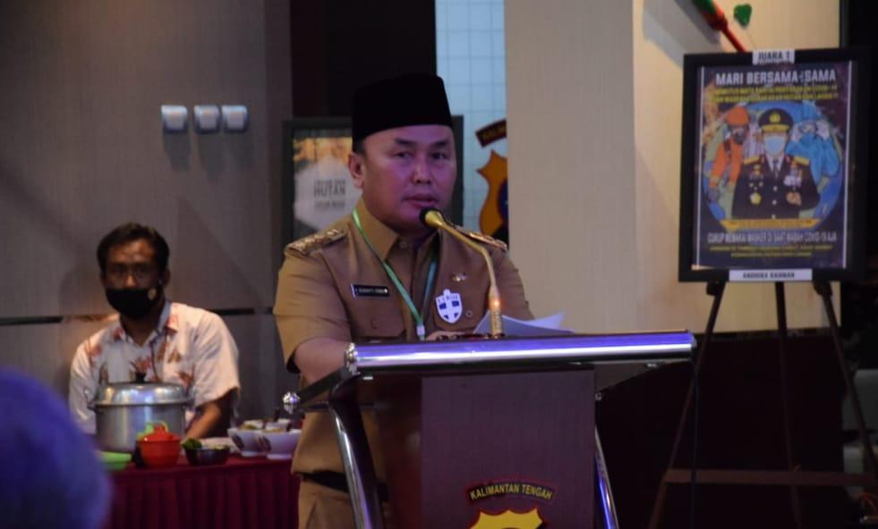 Bahas Pengamanan Pilkada Serentak Tahun 2020, Gubernur Kalteng Hadir