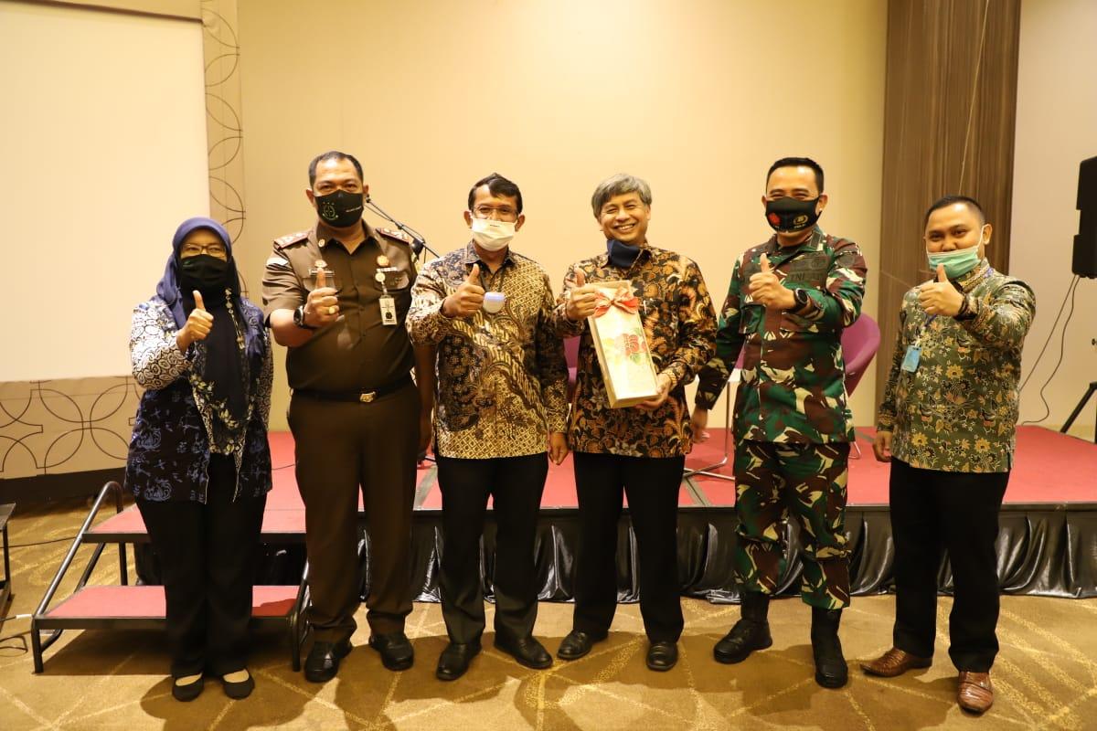 Dandim 0611/Garut Bertindak Selaku Moderator Dalam Pelaksanaan Kegiatan FGD