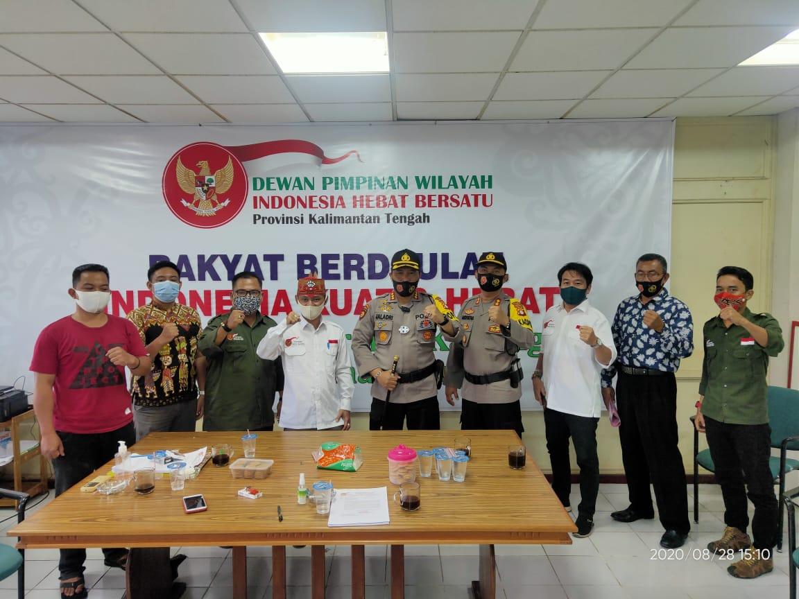 Polresta Palangka Raya Gelar Rapat Koordinasi bersama Aliansi Dayak Bersatu Terkait Aksi Damai