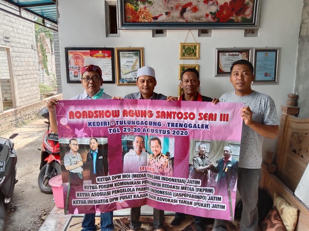 Roadshow Agung Santoso Seri III Di Kediri Sepakat Berbenah Menuju Peningkatan Mutu Konten Online