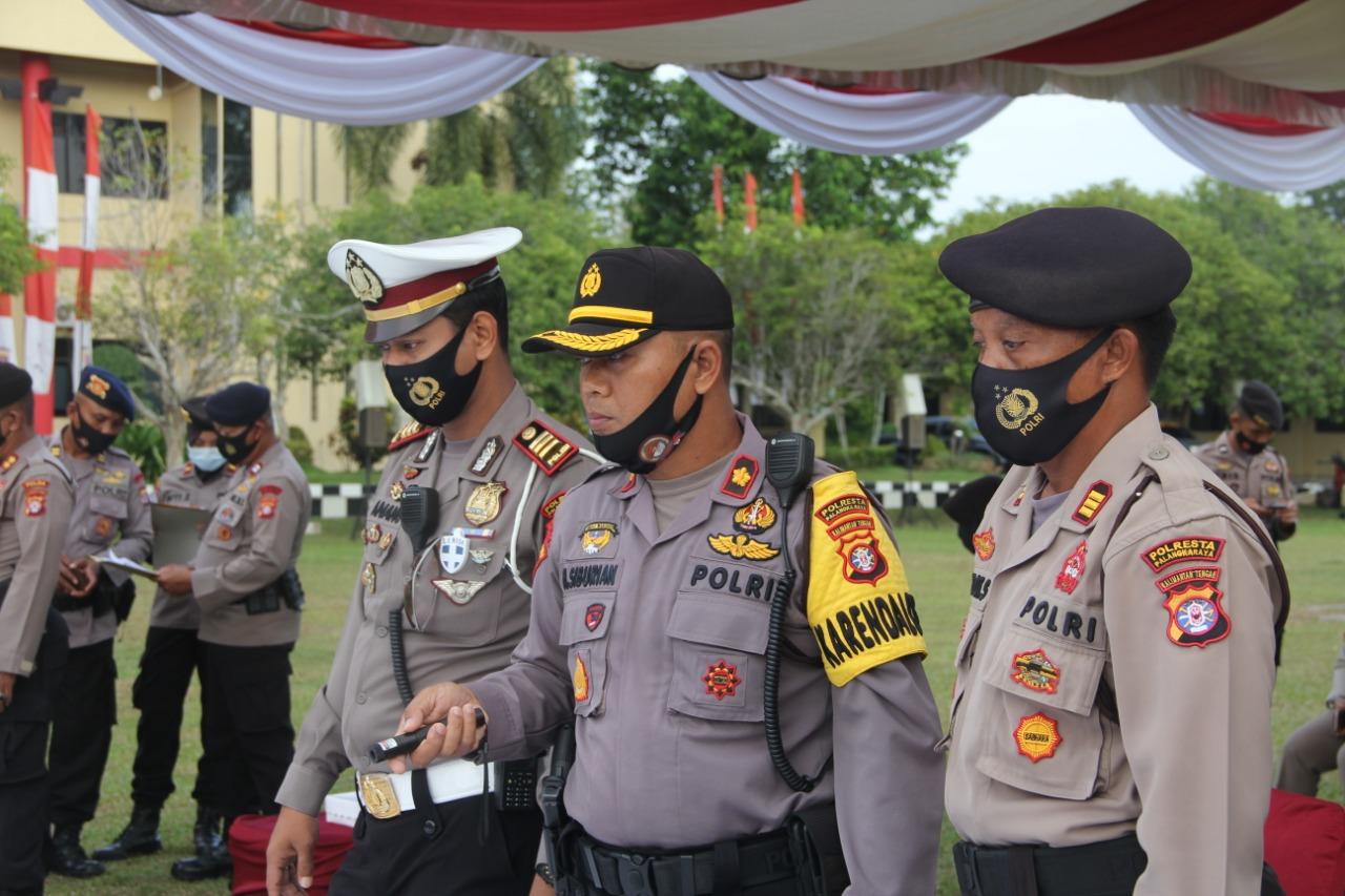 Ikuti Kegiatan TFG Kapolresta Paparkan Tugas dan Tanggung Jawab Personel Polresta Palangka