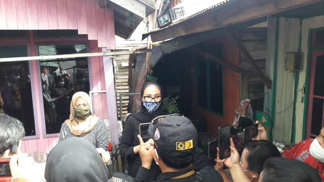 Istri Gubernur Kalteng Ivo Sugianto Sabran, Kunjungi Disabilitas Warga Puntun.