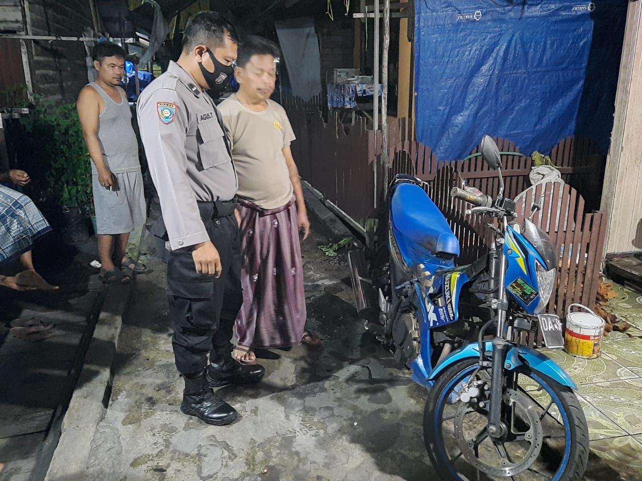 Polresta Palangka Raya Selidiki Kasus Pembakaran Sepeda Motor Di Murjani