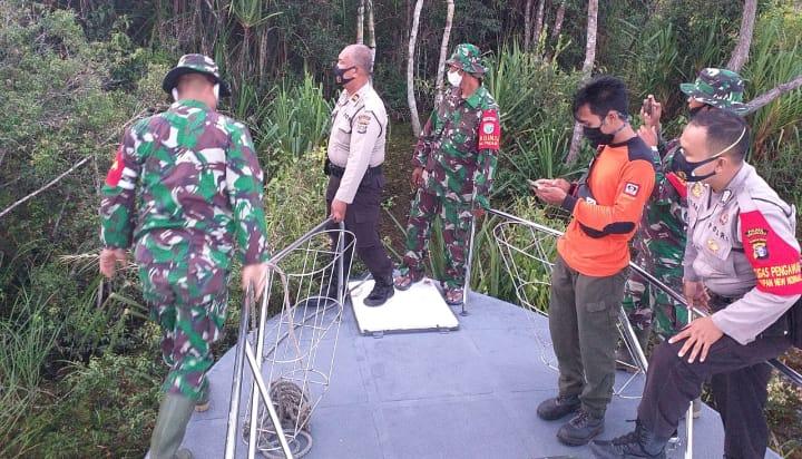 Cegah Karhutlah, TNI-Polri Patroli Bersama Di Sukamara
