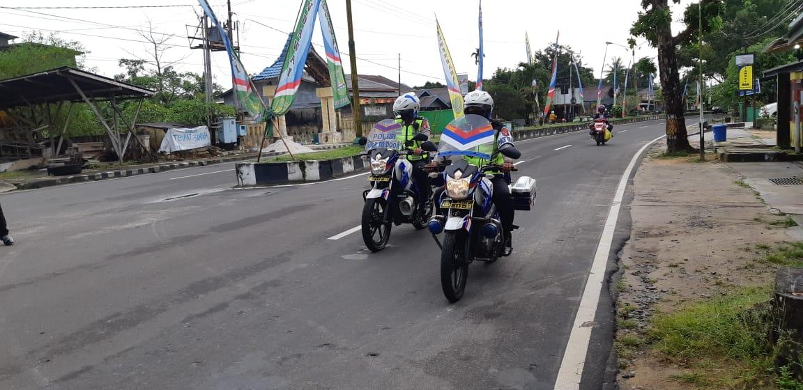 SatLantas Polres Sukamara Tingkatkan Patroli Jalan Rayanya