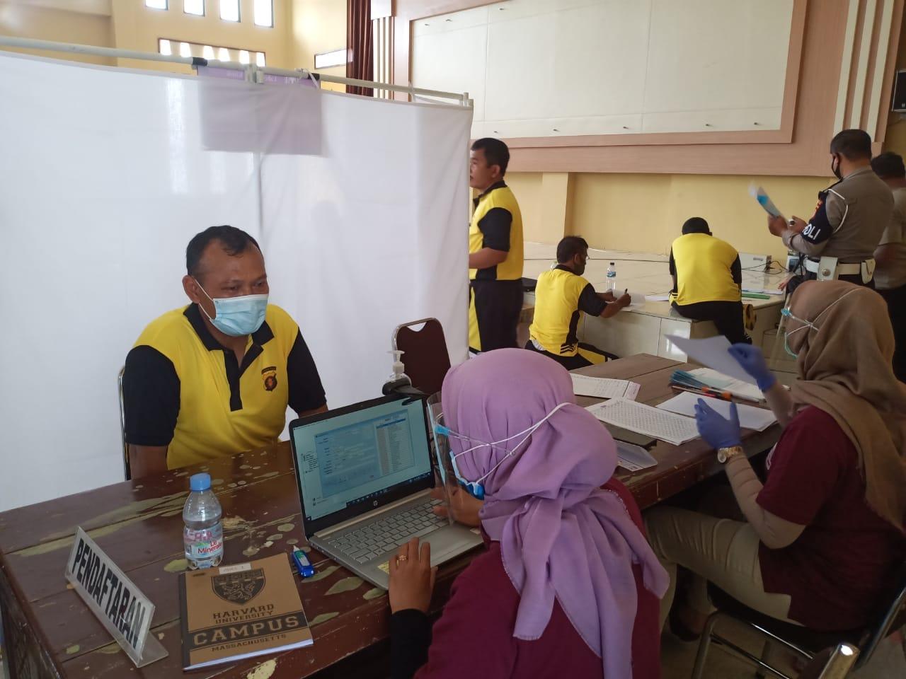 Peduli Kesehatan Personel, Polresta Palangka Raya Gelar Rikkes Berkala