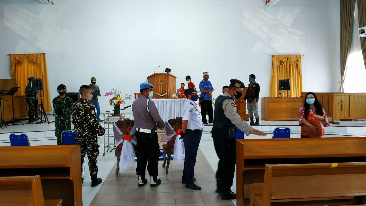Awasi Repsepsi Pesta Pernikahan, Tim URC Covid-19 Anjurkan Protokol Kesehatan