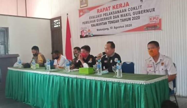 Evaluasi Pelaksanaan Coklit, Demi Suksesnya Pemilukada Serentak 2020