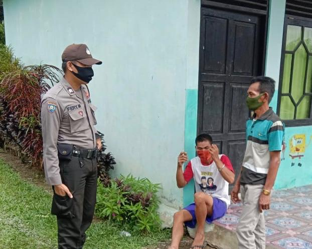 Bhabinkamtibmas Desa Tumbang Nusa imbau Sosialisasikan Karhutlah