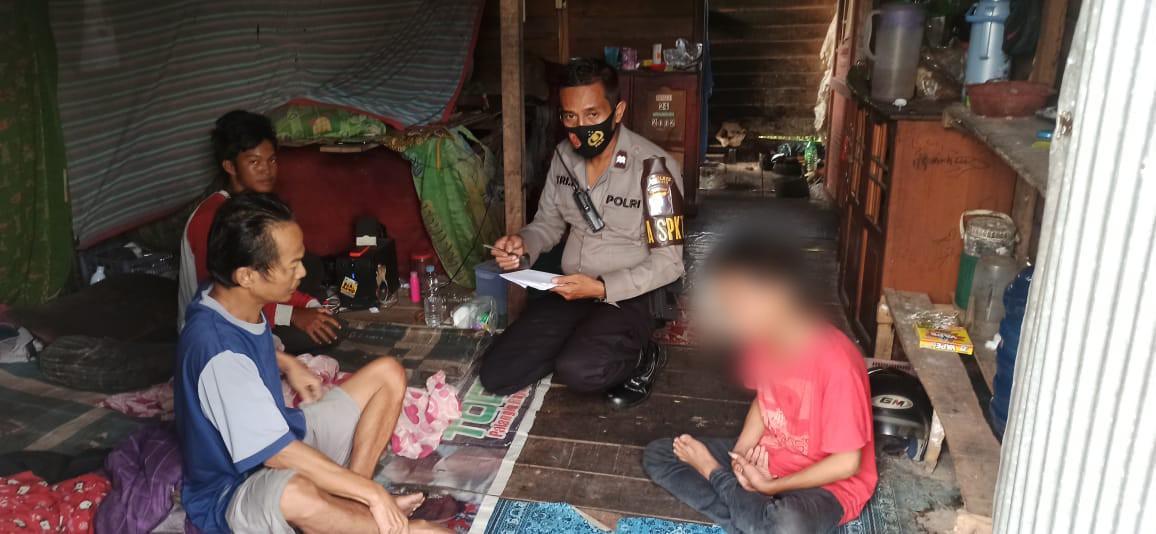 Kanit III SPKT Polresta Palangka Raya Berhasil Gagalkan Niat Bunuh Diri