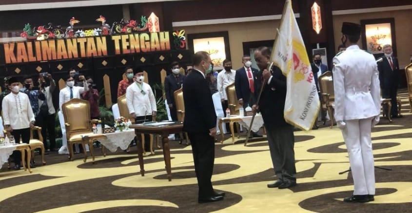 Tantangan Buat Ketua KONI Kalteng, Gubernur Minta Program Transparan