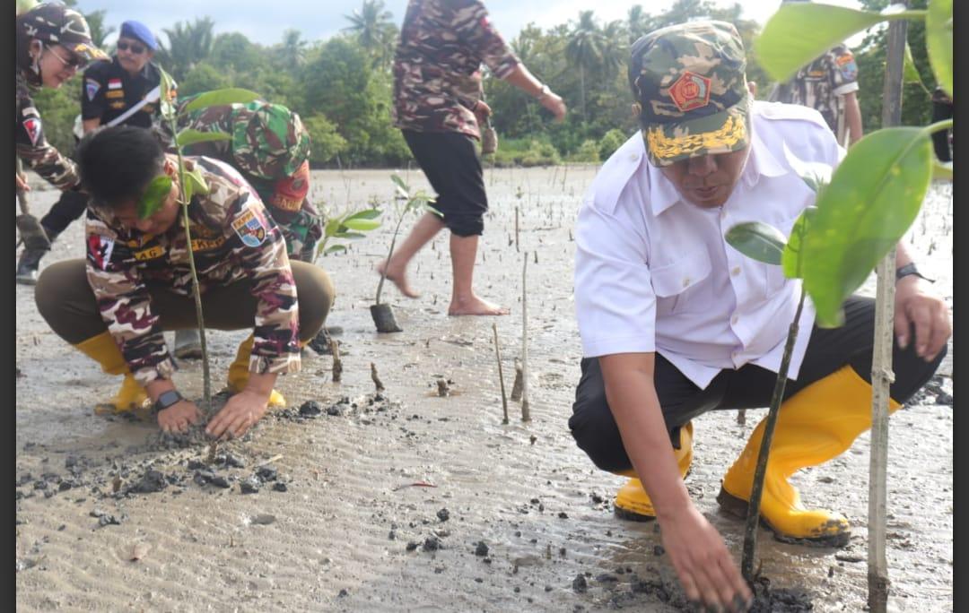 FKPPI Sultra Tanam 1000 Pohon Magrove Di Konsel