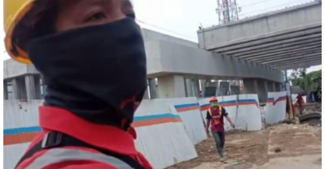 Proyek Konstruksi Jalan Tol Cibitung-Cilincing Ambruk, Jurnalis Online yang Meliput Diusir