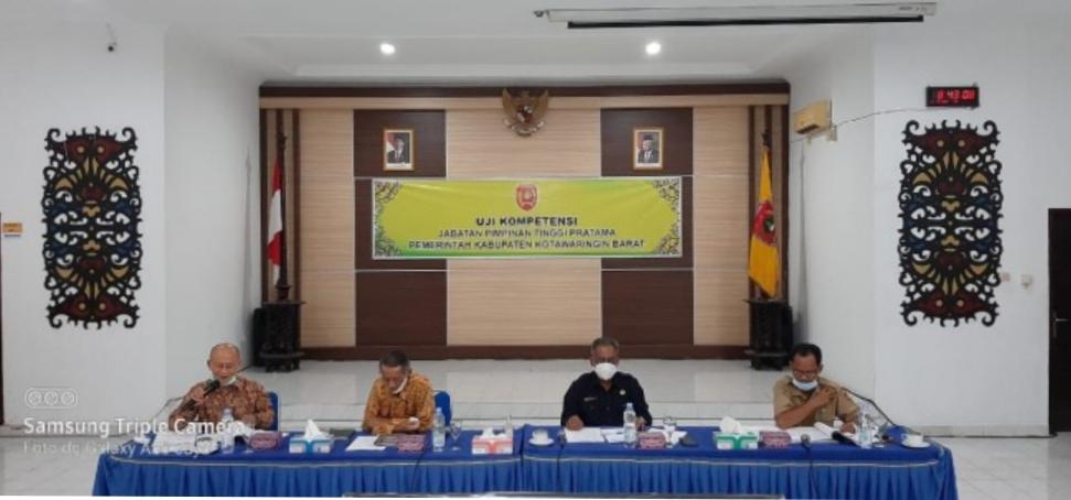 Tim Pansel Uji Kompetensi Jabatan Pimpinan Tinggi Pratama