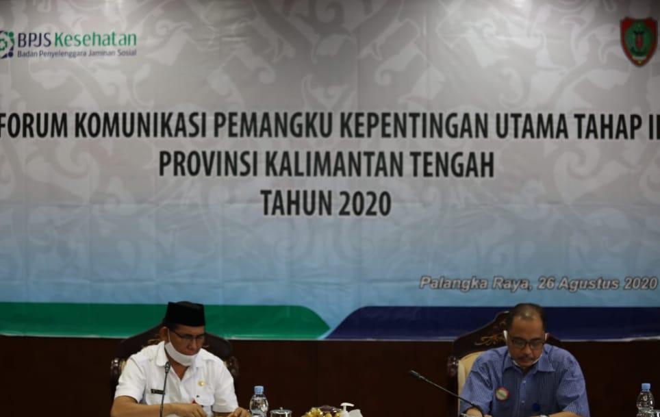 Hamka Asisten Pemprov Kalteng Buka Acara FKPKU Tahap II 2020