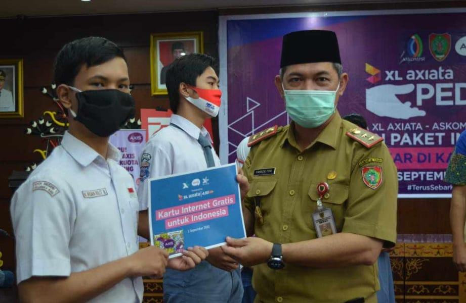 Siswa SMP dan SMA Dapat Bantuan Paket Data Internet Dari Pemprov Kalteng