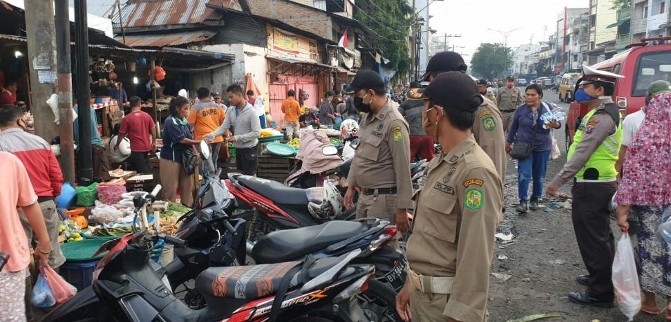 Kapolsek Medan Area, Melakukan Penertiban PK5 Pajak Sukaramai