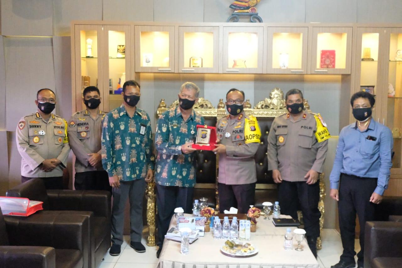 Jalin Silahturahmi Baik, Kapolda Kalteng Terima Kunjungan IAHN Kota Palangka Raya.