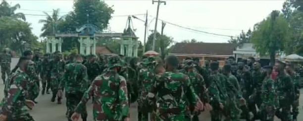 54 prajurit Tamtama TNI/AD Ikuti Kegiatan Tradisi Masuk Satuan Kodim 0412 Lampung Utara