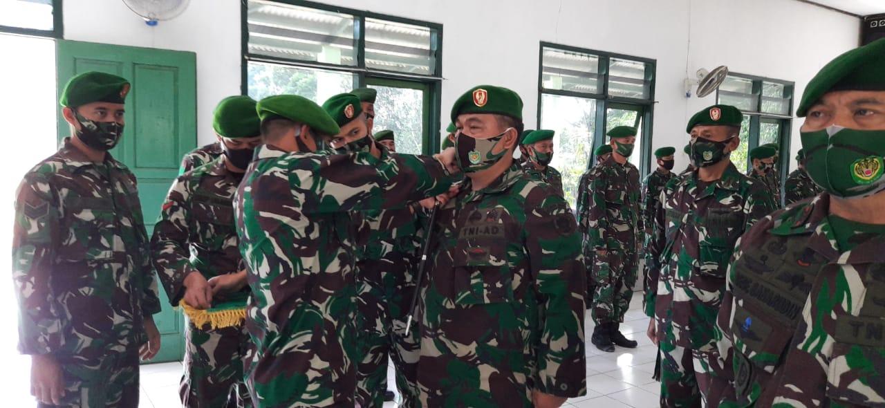 Komandan Kodim 0610/Sumedang Melaksanakan Serah Terima Jabatan