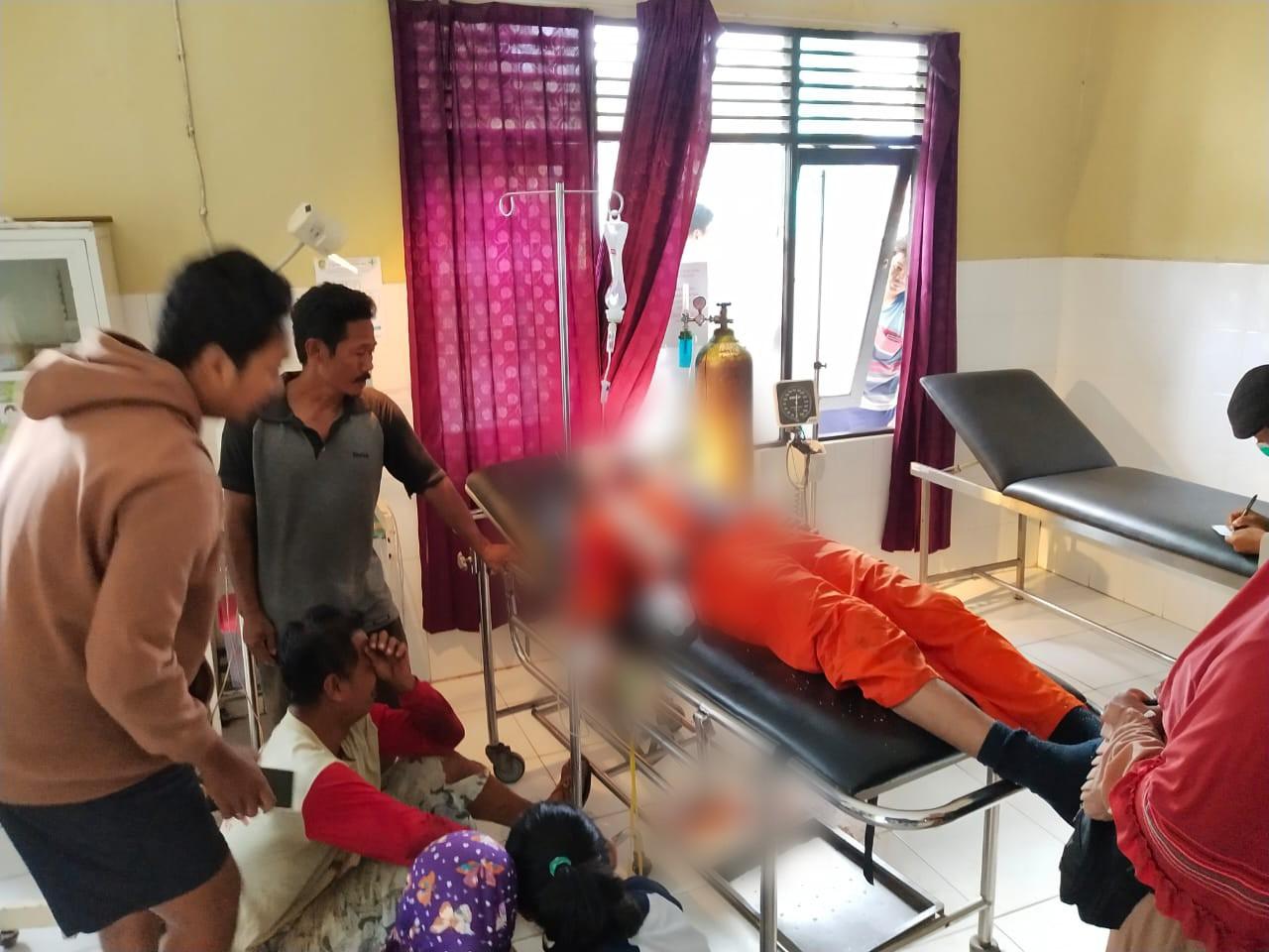 Polsek Bukit Batu Sigap Evakuasi Korban dan Amankan TKP Laka Lantas di Jalan Tjilik Riwut Km 34,5