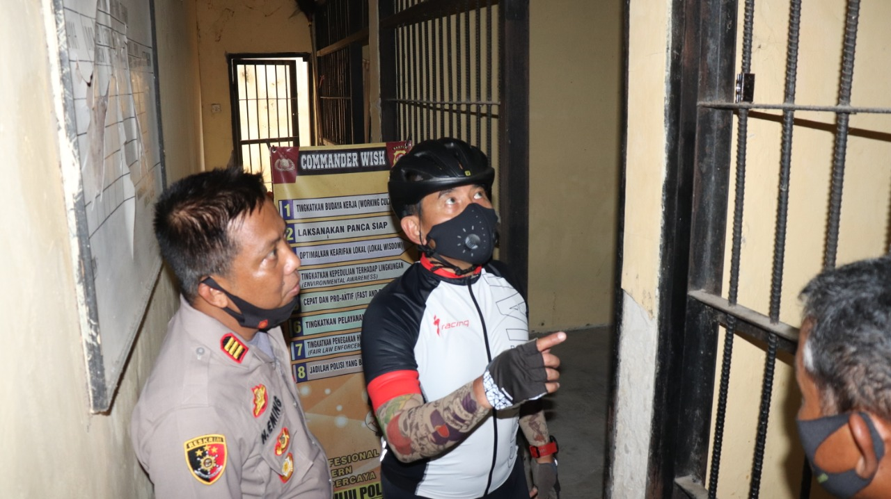 Kunjungi Polsek Jajaran, Kapolda Banten Cek Kesiapan Pengamanan Pilkada