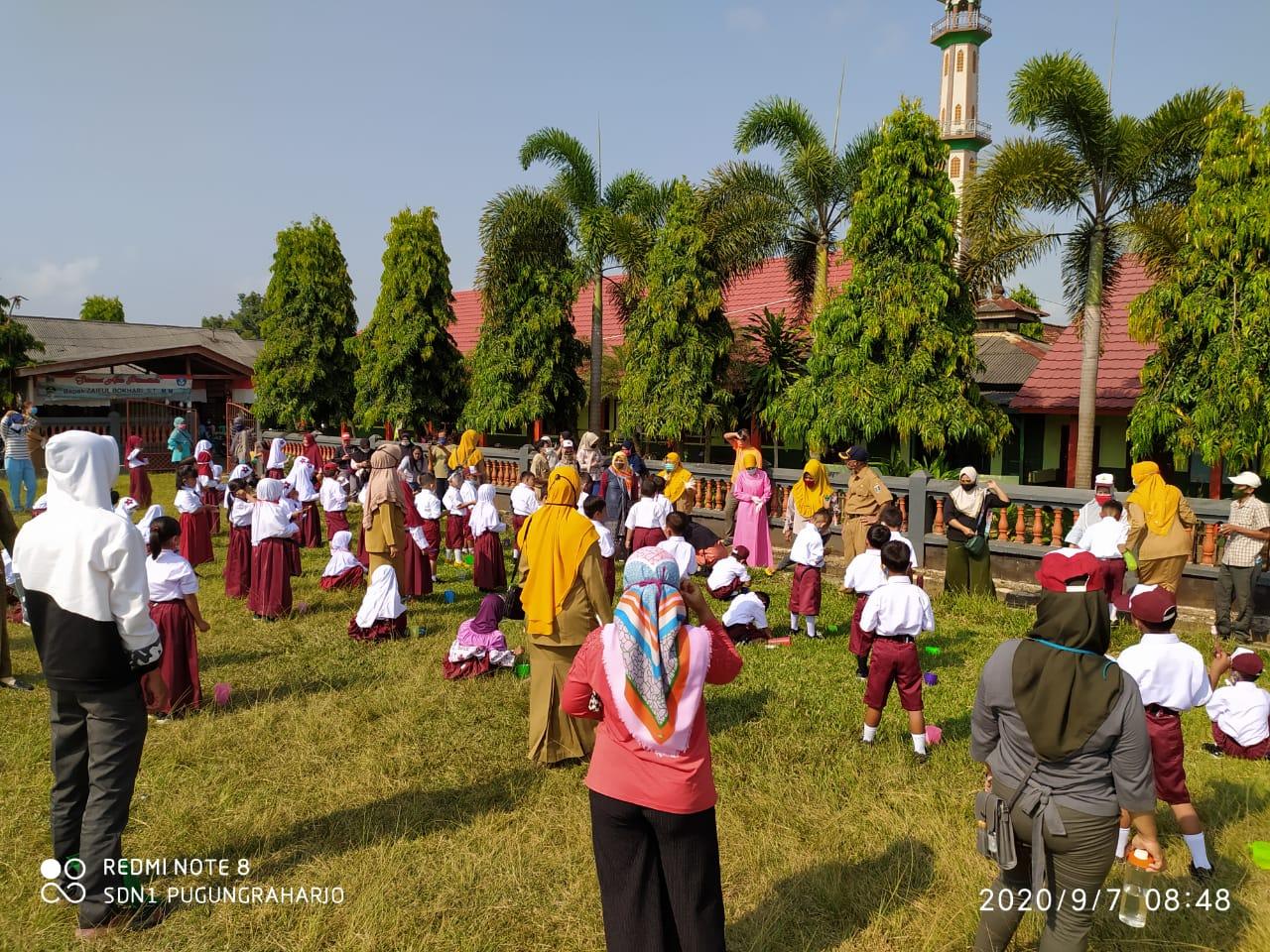 SDN 1 Pugungraharjo dan Puskesmas Pugung Raharjo Adakan Bulan Imunisasi Anak Sekolah (BIAS)
