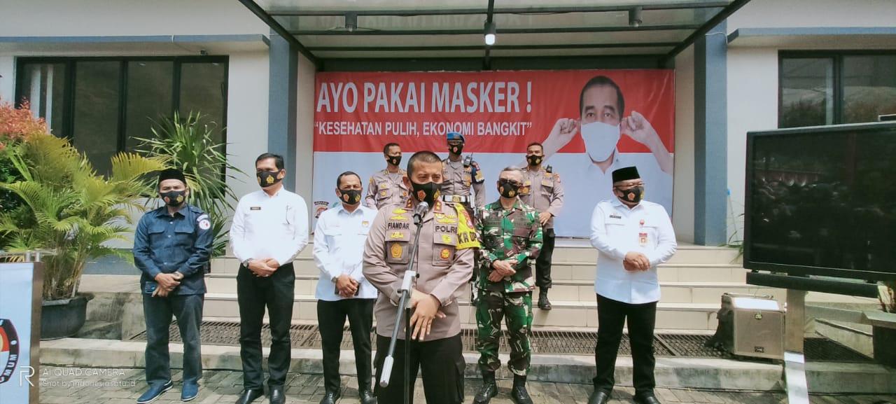 Kapolda Banten Ikuti Kampanye Penggunaan Masker Secara Virtual