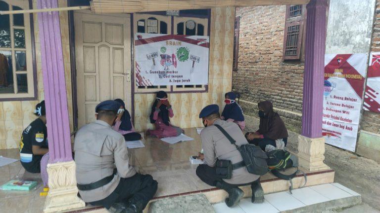 Polri Peduli Pendidikan, Brimob Polda Jabar Gencarkan Program Brimob Ramah Anak Indonesia (BRAIN)