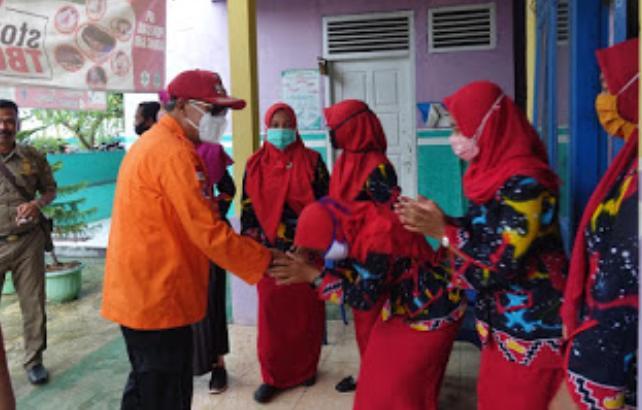 Bupati Lampung Tengah Memantau Langsung Kegiatan Pelayanan Kesehatan di UPT Puskesmas