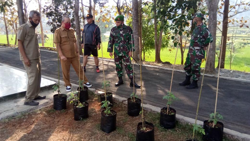 Kodim 0610/Sumedang, Menerima Kunjungan Dari Kadistan Kabupaten Sumedang