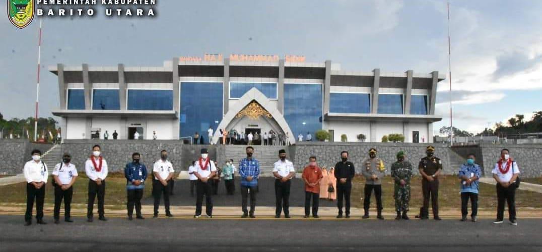 Bandara Haji Muhamad Sidik Mulai Beroperasi