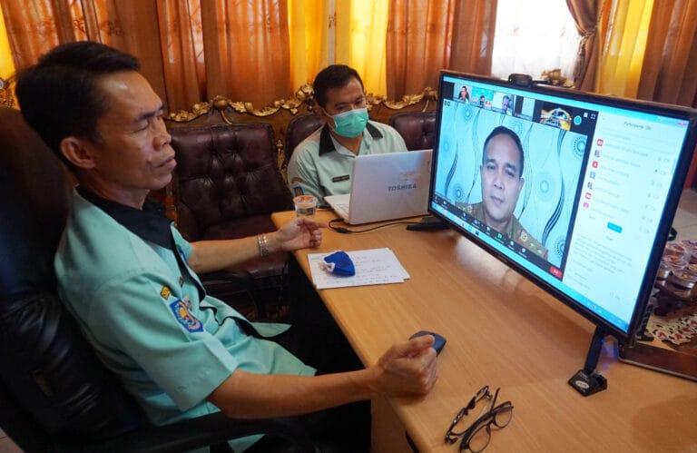 Tingkatkan Pelayanan, Kadis Dukcapil Lampung Selatan Dua Jam Sapa Masyarakat Secara Virtual